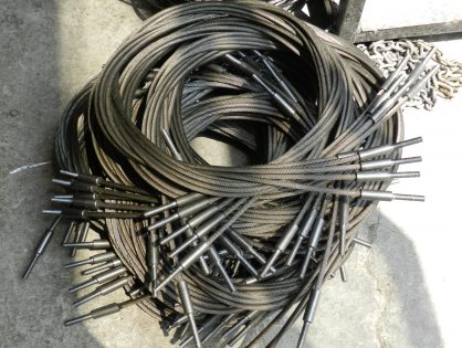 Saplama Baskılı Çelik Halat