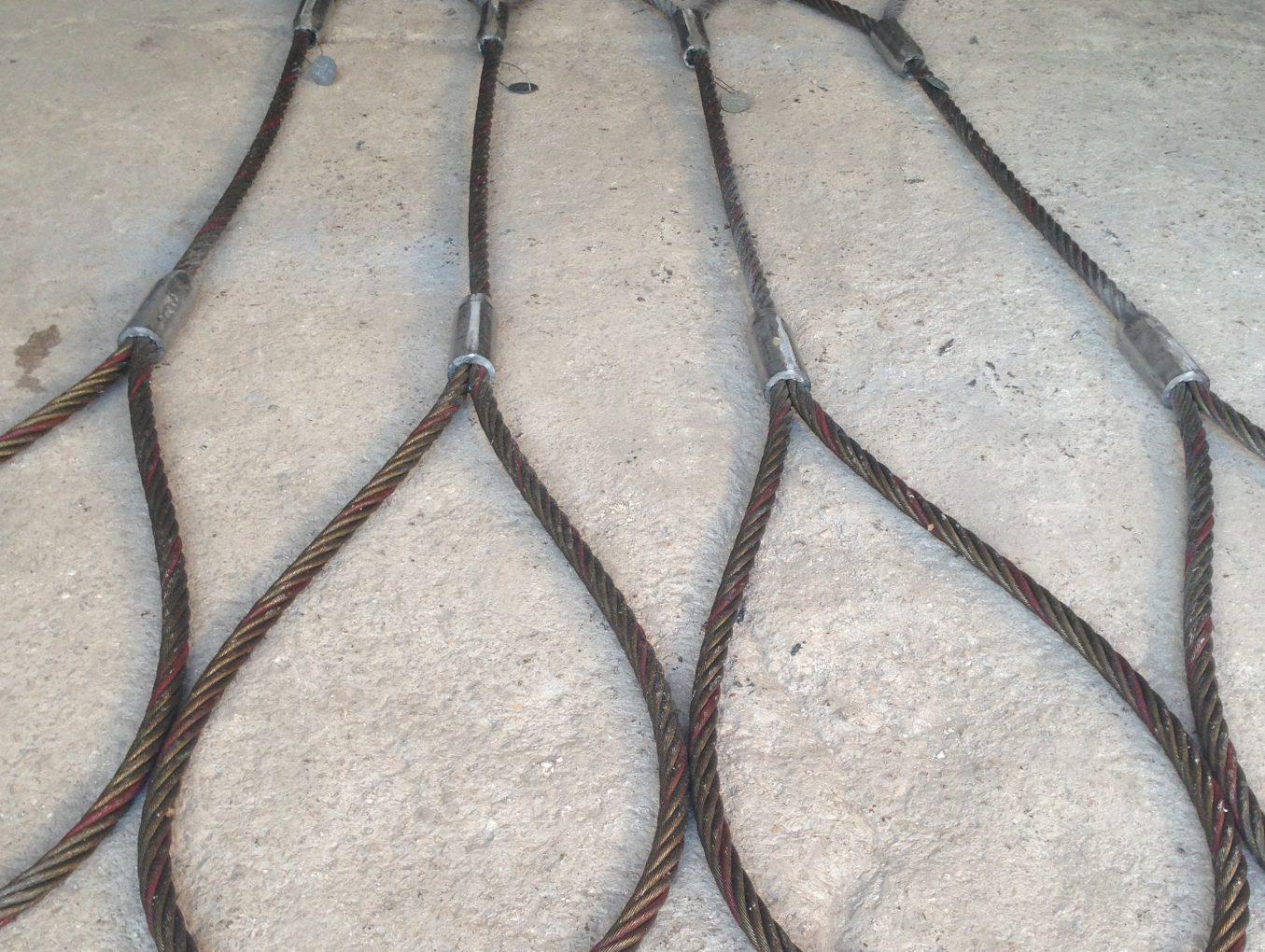 Konik Baskılı Kurşun Baskı Çelik Halat Sapan